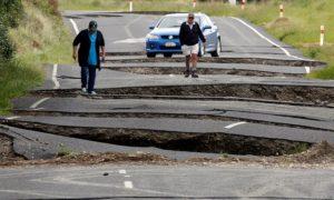 Kaikoura, New Zealand earthquake damage
