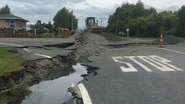 Kaikoura earthquake image