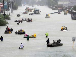 Hurricane Harvey flooding in Houston