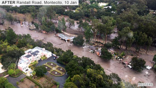 California mudslides Montecito