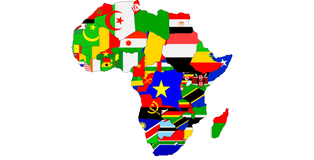 africa-map-flags